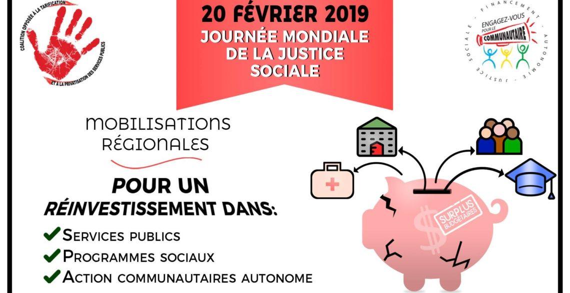 20 février : Journée mondiale de la justice sociale